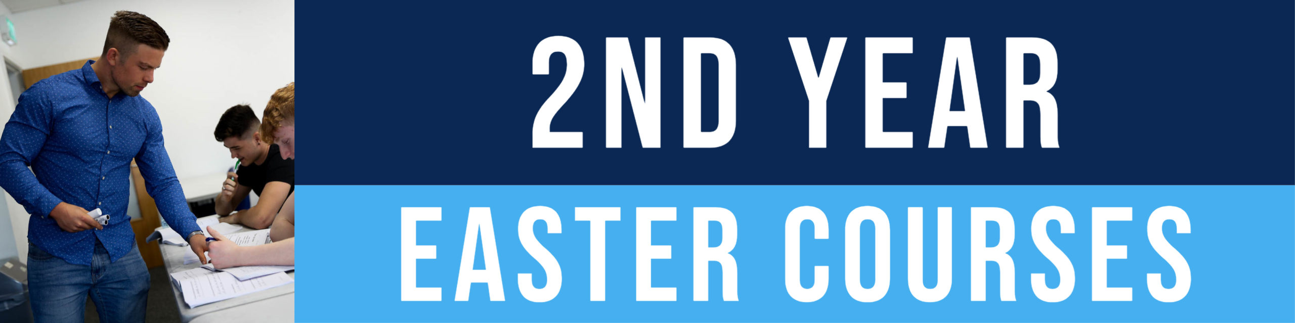 2nd Year Easter Revision Courses