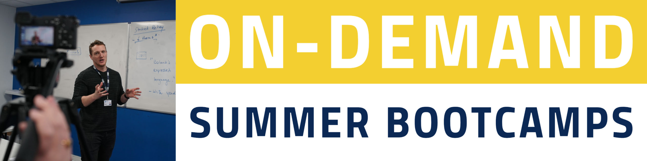 5th Year On-Demand Summer Bootcamps
